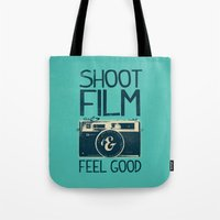 film Tote Bags featuring Shoot Film by Victor Vercesi