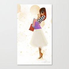 Shopping! Canvas Print
