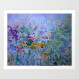 Fields of Fancy Art Print