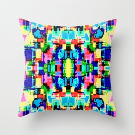 Colorful-12.1 Throw Pillow