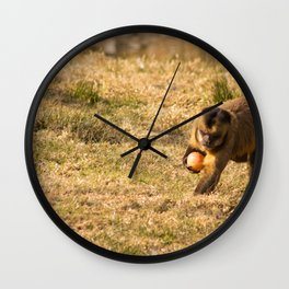 Monkey Business III Wall Clock