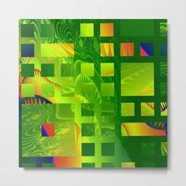 Great Green Frac 5 Metal Print