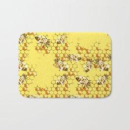 Honey Hive Bath Mat