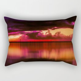 Another Place at Sunset Rectangular Pillow