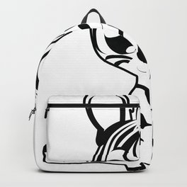 baby zebra 2 Backpack