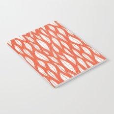 Quail Feathers (Poppy) Notebook