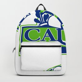 Professional Golfer and Caddie Retro Backpack