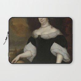 Lambertus Jansz. de Hue - Portrait of Margaretha Munter, second Wife of Jacobus Trip Laptop Sleeve