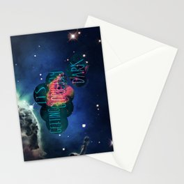 Gloriously dark Stationery Cards