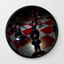 chess 3D Wall Clock
