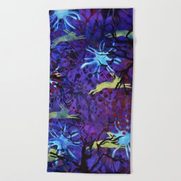 Dreamy nights Beach Towel