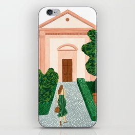 Garden Walk iPhone Skin