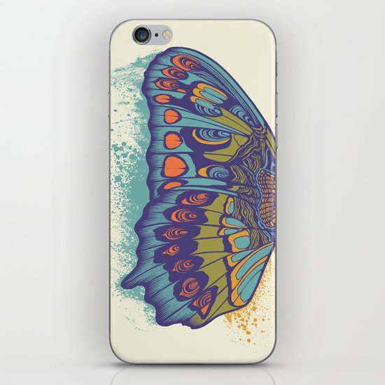 Butterfly Life Cycle iPhone & iPod Skin