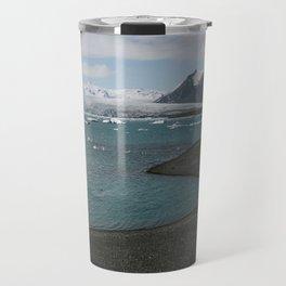 glacial lagoon Travel Mug