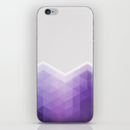 ULTRA VIOLET TRIANGLE CHEVRON DESIGN iPhone Skin