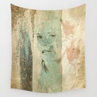 grace Wall Tapestries featuring Divas - Grace by Fernando Vieira