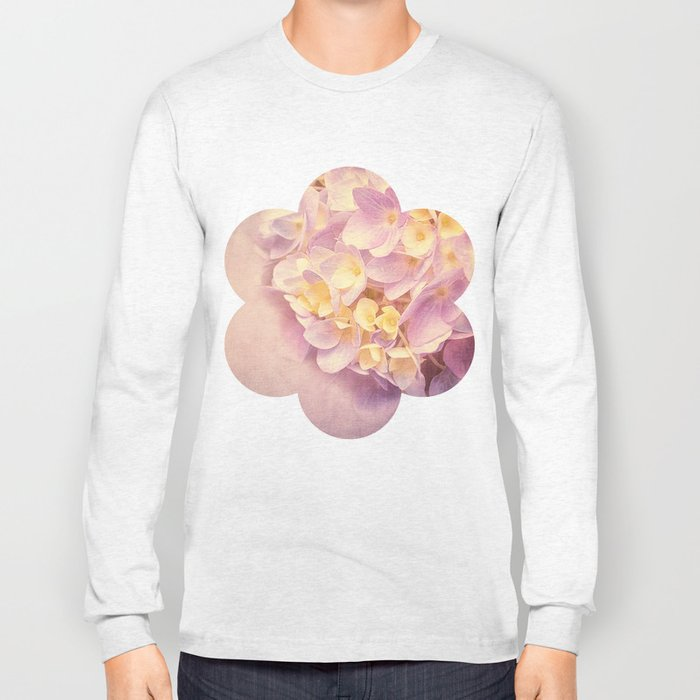 HYDRANGEA VINTAGE Long Sleeve T-shirt