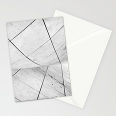 WHITEOUT: chicago disoriented Stationery Cards