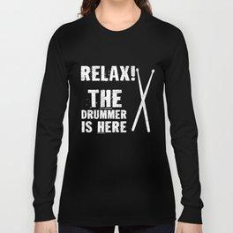 Bandshirt Drummer Shirt Long Sleeve T-shirt