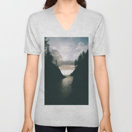 Cape Disappointment Unisex V-Neck