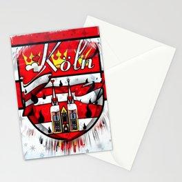 Köln Popart by Nico Bielow Stationery Cards