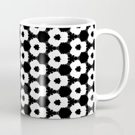 black and white flowers Coffee Mug