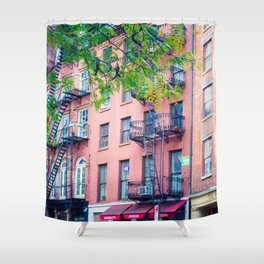 Pearl Street Shower Curtain