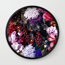 EXOTIC GARDEN - NIGHT XIX Wall Clock