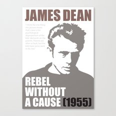 James Dean - Rebel Without A Cause Canvas Print