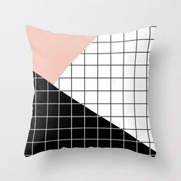 Minimal Geometry Throw Pillow