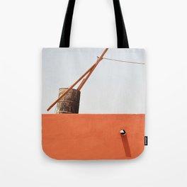 Tilted Tote Bag