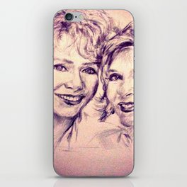 Debbie & Daughter iPhone Skin