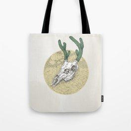 Deer cactus Tote Bag