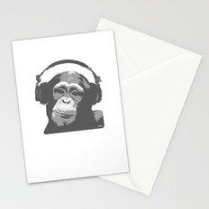 DJ MONKEY Stationery Cards