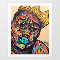 notorious Art Prints featuring Notorious by Spencer McCarty