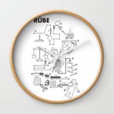 Rube Wall Clock