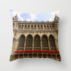 Building in Vienna Throw Pillow