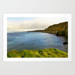 Carrick-a-rede, Northern Ireland Art Print