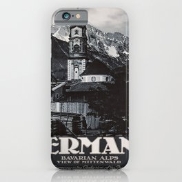 ancienne affiche Germany iPhone Case