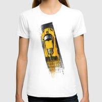 senna T-shirts featuring McLaren MP4 12C by Michele Leonello