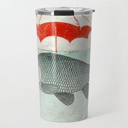 Umbrella Goldfish Travel Mug
