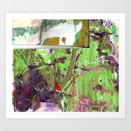 Green Earth Boundary Art Print