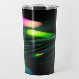 Stack of Compact Discs Abstract 9 Travel Mug