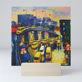 A Section Of The Busy Lagos Metropolis Mini Art Print