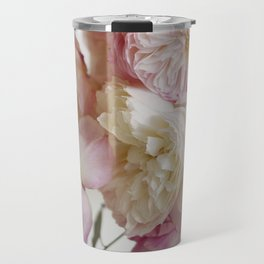 Still Life, Pale Roses Travel Mug