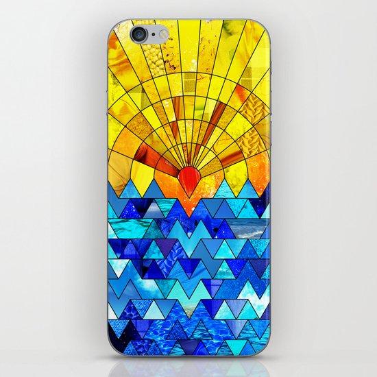 Sun & Sea Collage iPhone & iPod Skin