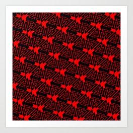 Valknut Pattern Art Print