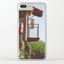 Austin Hotel Clear iPhone Case