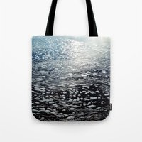 ombre Tote Bags featuring Ombre by Amy Muir