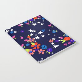 star floral Notebook